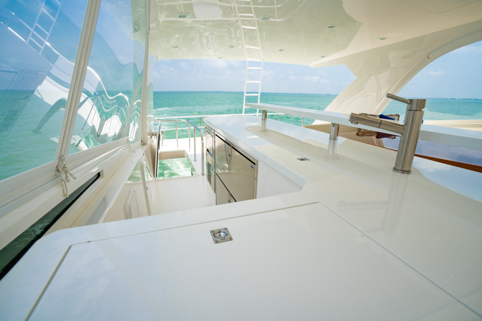 Viking-82 Cockpit MY 2019-Make It Happen Sanibel -Florida-United States-Viking 82CPMY Make It Happen  Galley-1378566 | Thumbnail