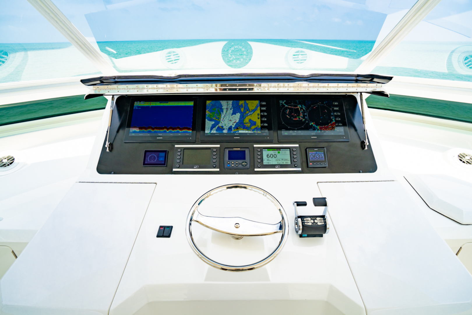 Viking-82 Cockpit MY 2019-Make It Happen Sanibel -Florida-United States-Viking 82CPMY Make It Happen Electronics-1378562 | Thumbnail