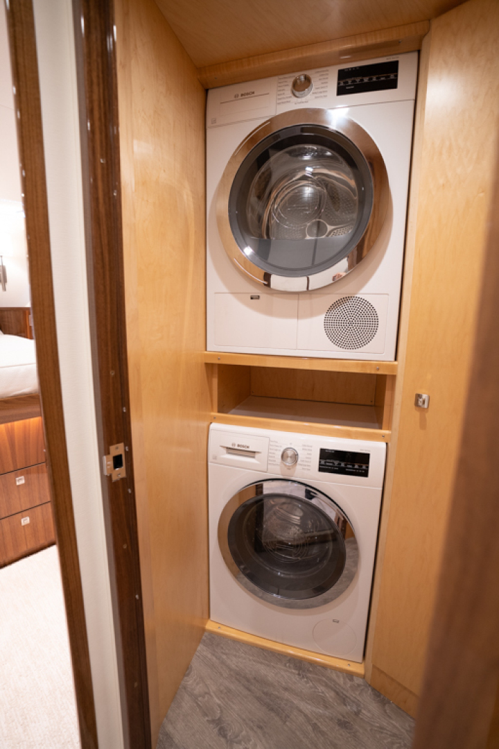 Viking-82 Cockpit MY 2019-Make It Happen Sanibel -Florida-United States-Viking 82CPMY Make It Happen Laundry Room-1378538 | Thumbnail