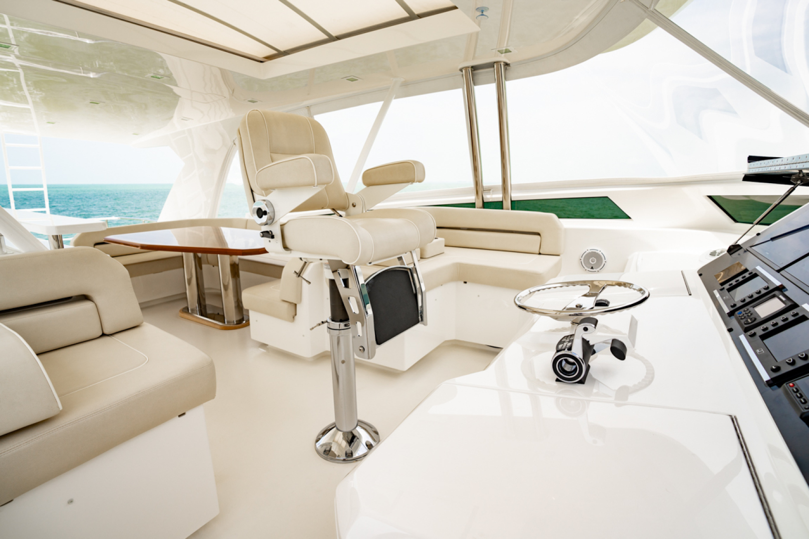 Viking-82 Cockpit MY 2019-Make It Happen Sanibel -Florida-United States-Viking 82CPMY Make It Happen Captains Chair-1378558 | Thumbnail