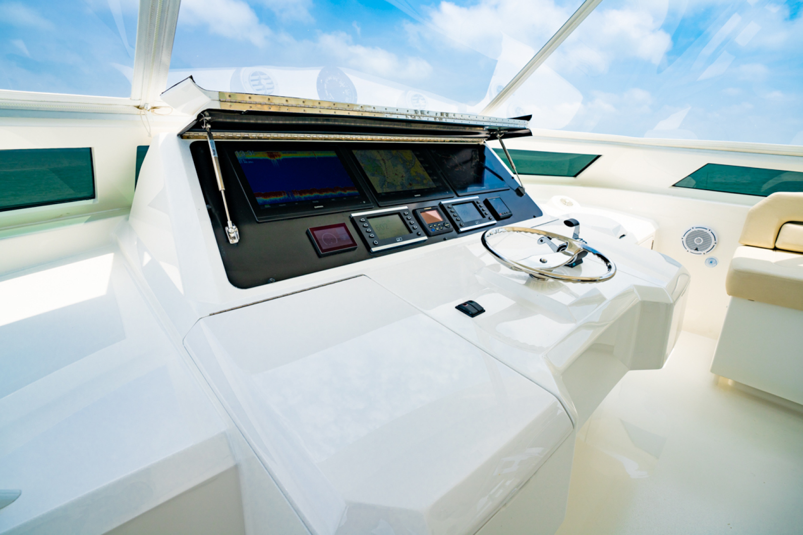 Viking-82 Cockpit MY 2019-Make It Happen Sanibel -Florida-United States-Viking 82CPMY Make It Happen Helm-1378573 | Thumbnail