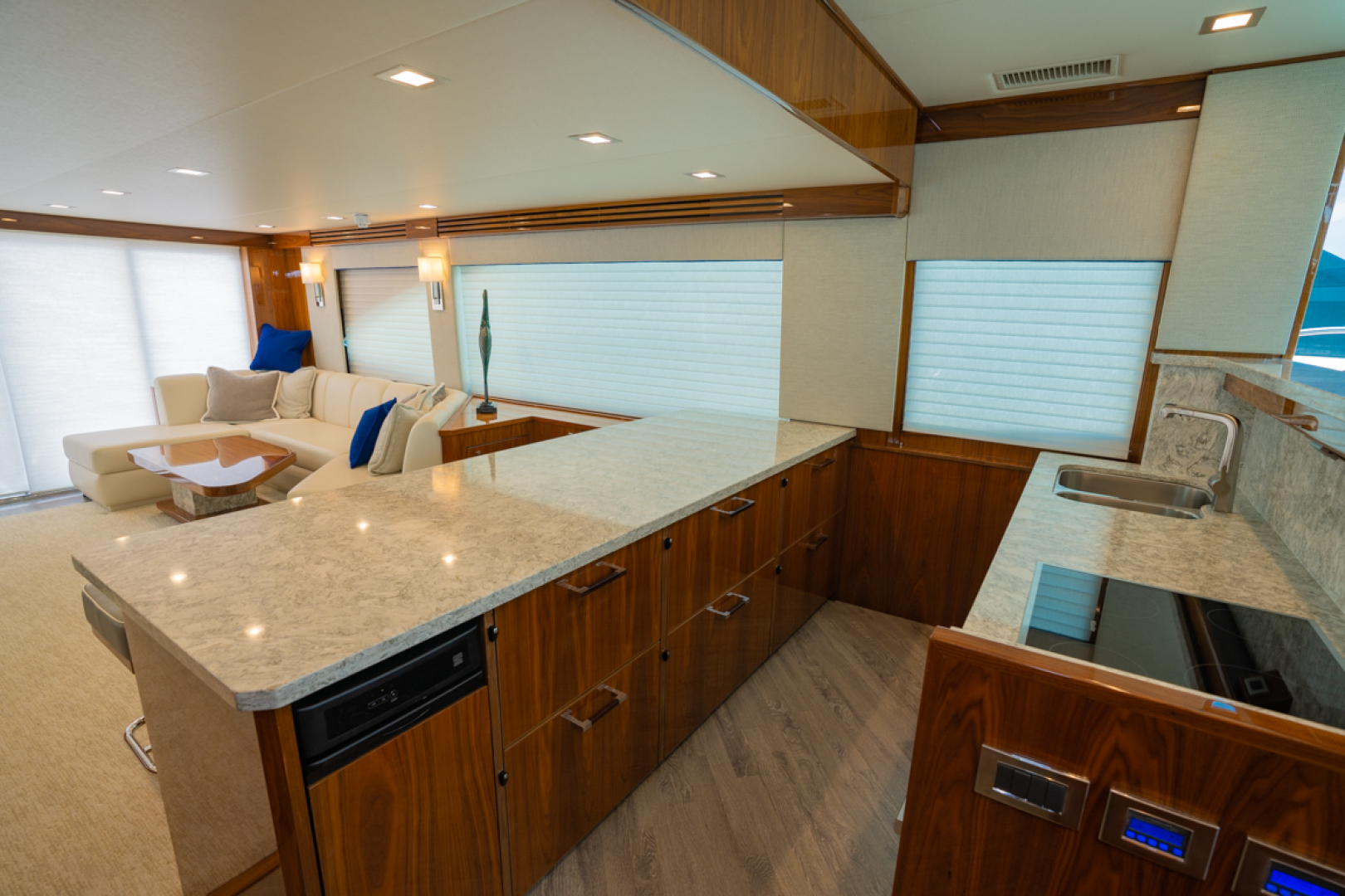 Viking-82 Cockpit MY 2019-Make It Happen Sanibel -Florida-United States-Viking 82CPMY Make It Happen Galley-1378534 | Thumbnail