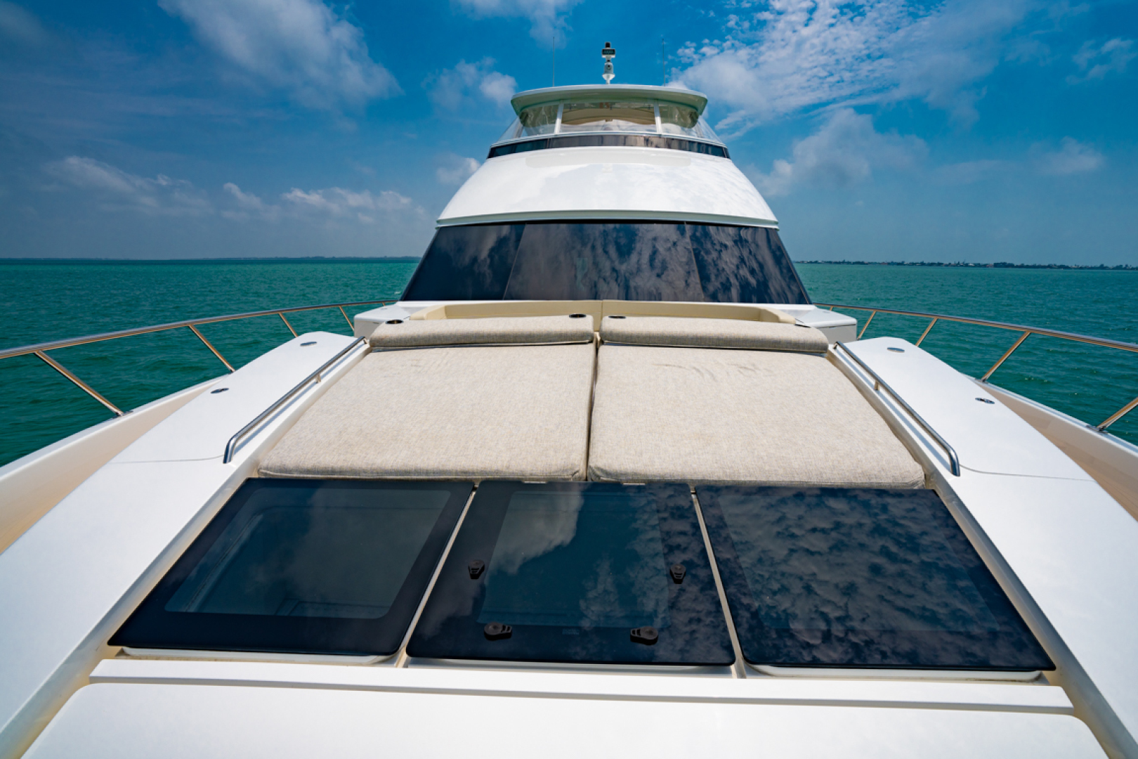 Viking-82 Cockpit MY 2019-Make It Happen Sanibel -Florida-United States-Viking 82CPMY Make It Happen Fwd Sunlounge-1378570 | Thumbnail