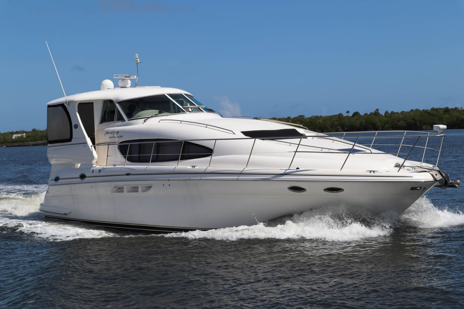 Sea Ray-480 Motor Yacht 2002-Fofo Fort Pierce-Florida-United States-Starboard Side-1647772 | Thumbnail