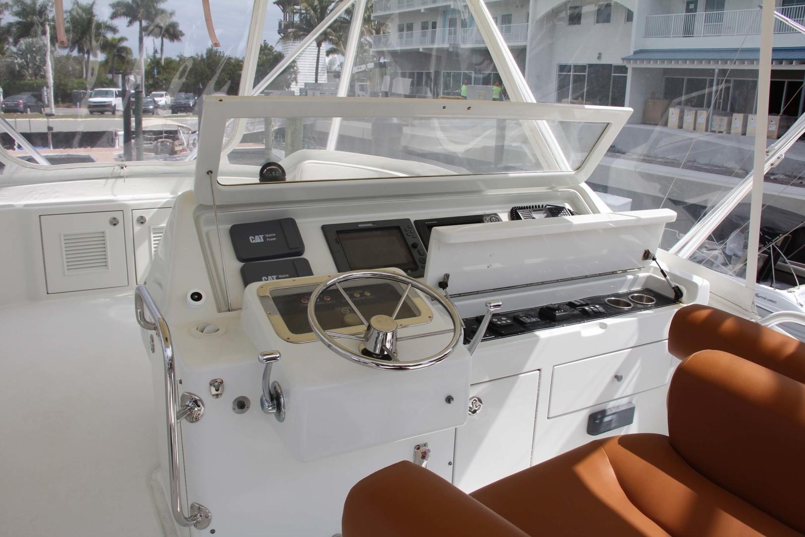 Vicem-Sportfish 2005 -Bradenton-Florida-United States-Flybridge Helm-1370858 | Thumbnail