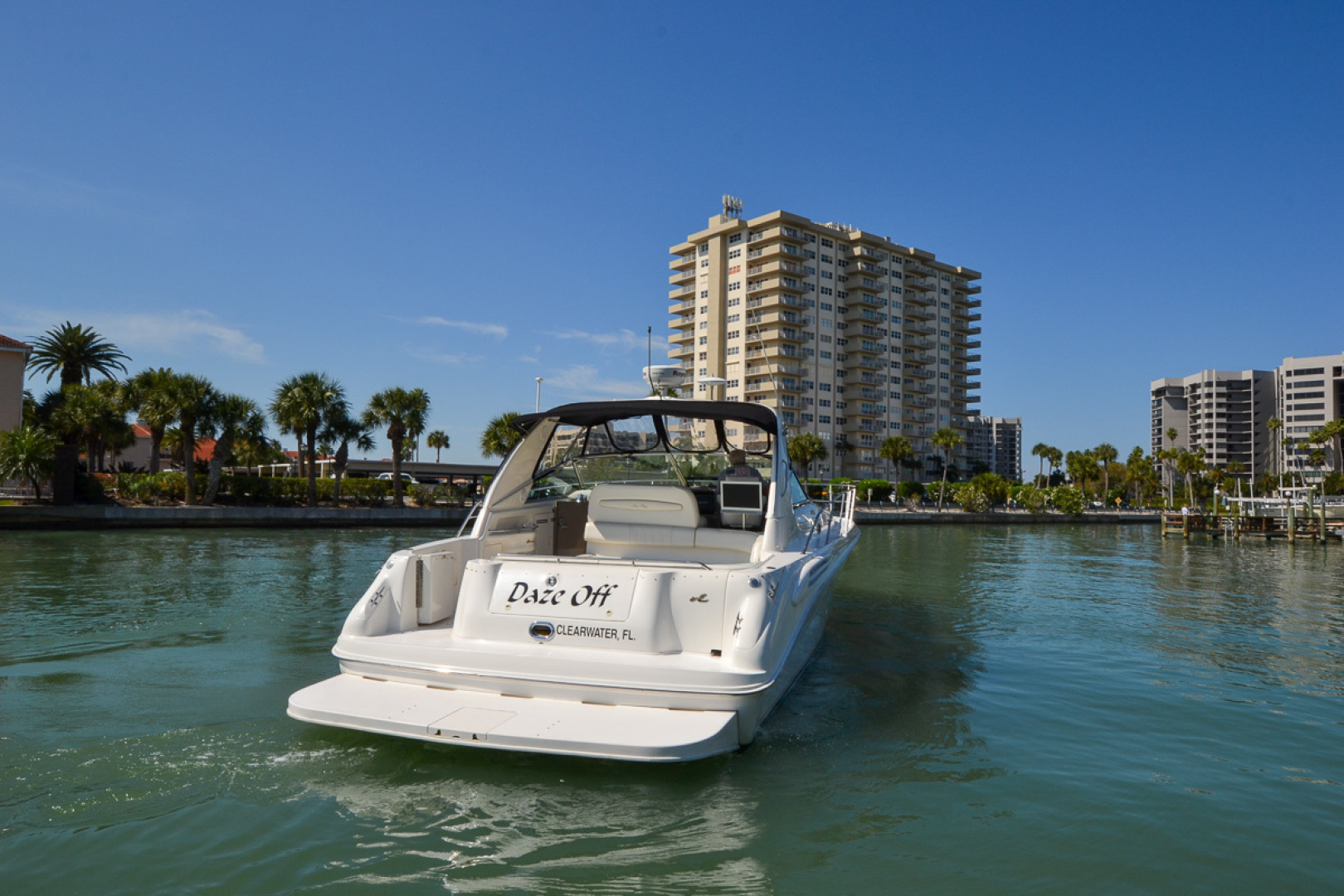 Sea Ray-400 Sundancer 1998-Daze Off Clearwater Beach-Florida-United States-1371537 | Thumbnail