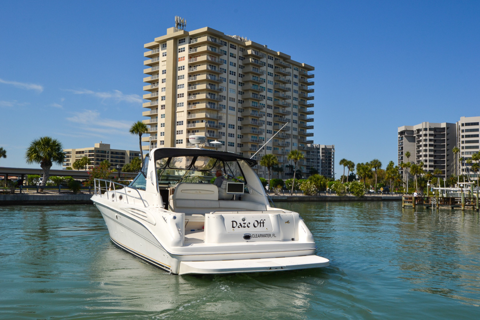 Sea Ray-400 Sundancer 1998-Daze Off Clearwater Beach-Florida-United States-1371539 | Thumbnail