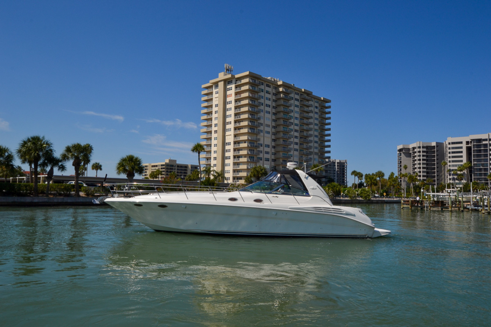 Sea Ray-400 Sundancer 1998-Daze Off Clearwater Beach-Florida-United States-1371545 | Thumbnail