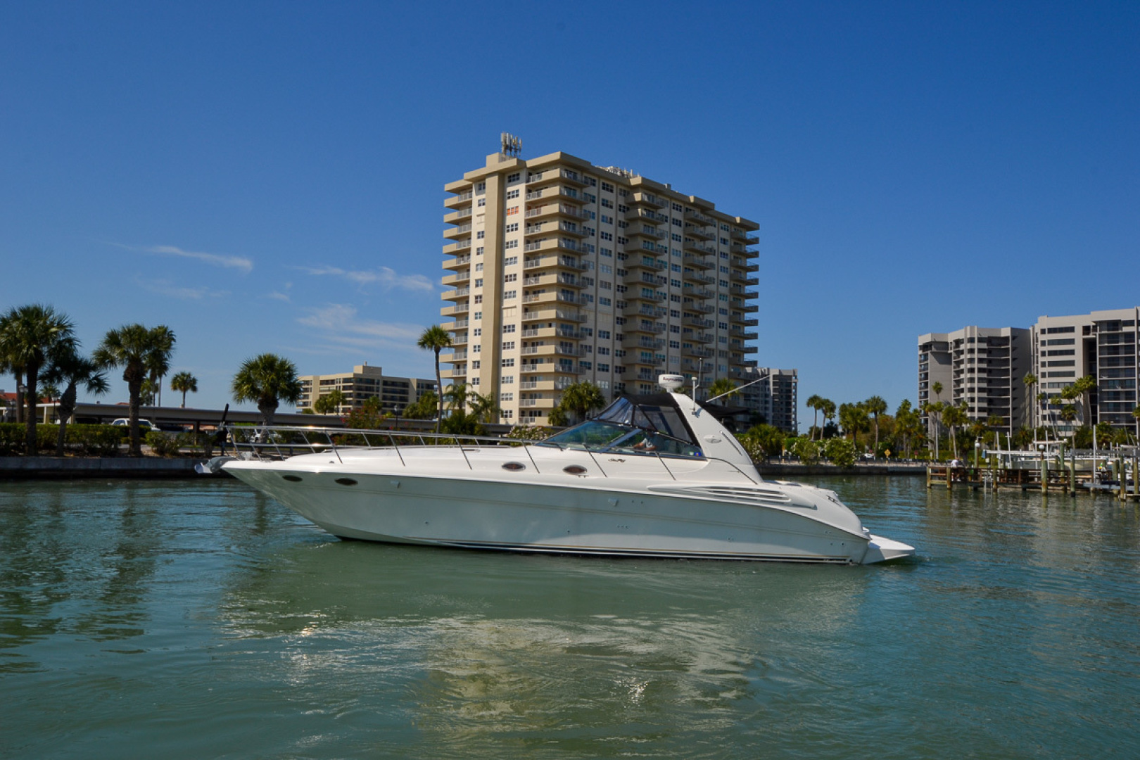 Sea Ray-400 Sundancer 1998-Daze Off Clearwater Beach-Florida-United States-1371544 | Thumbnail