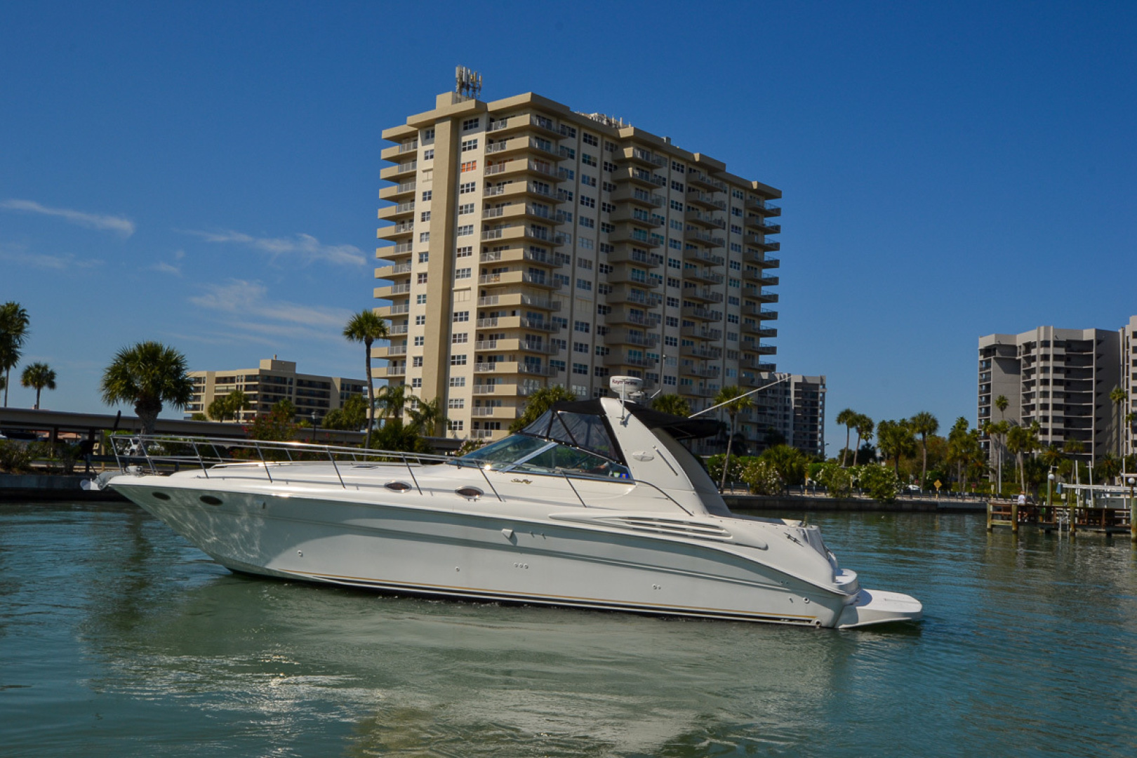 Sea Ray-400 Sundancer 1998-Daze Off Clearwater Beach-Florida-United States-1371542 | Thumbnail