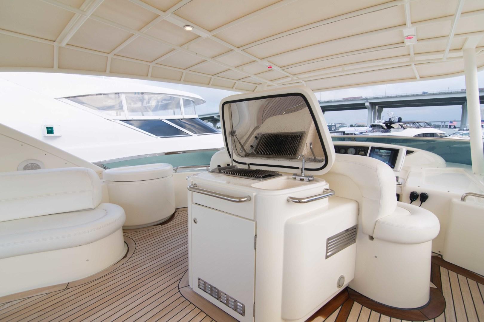Azimut-Motor Yacht 2001-Enchanted Lady North Palm Beach-Florida-United States-Flybridge-1372225 | Thumbnail