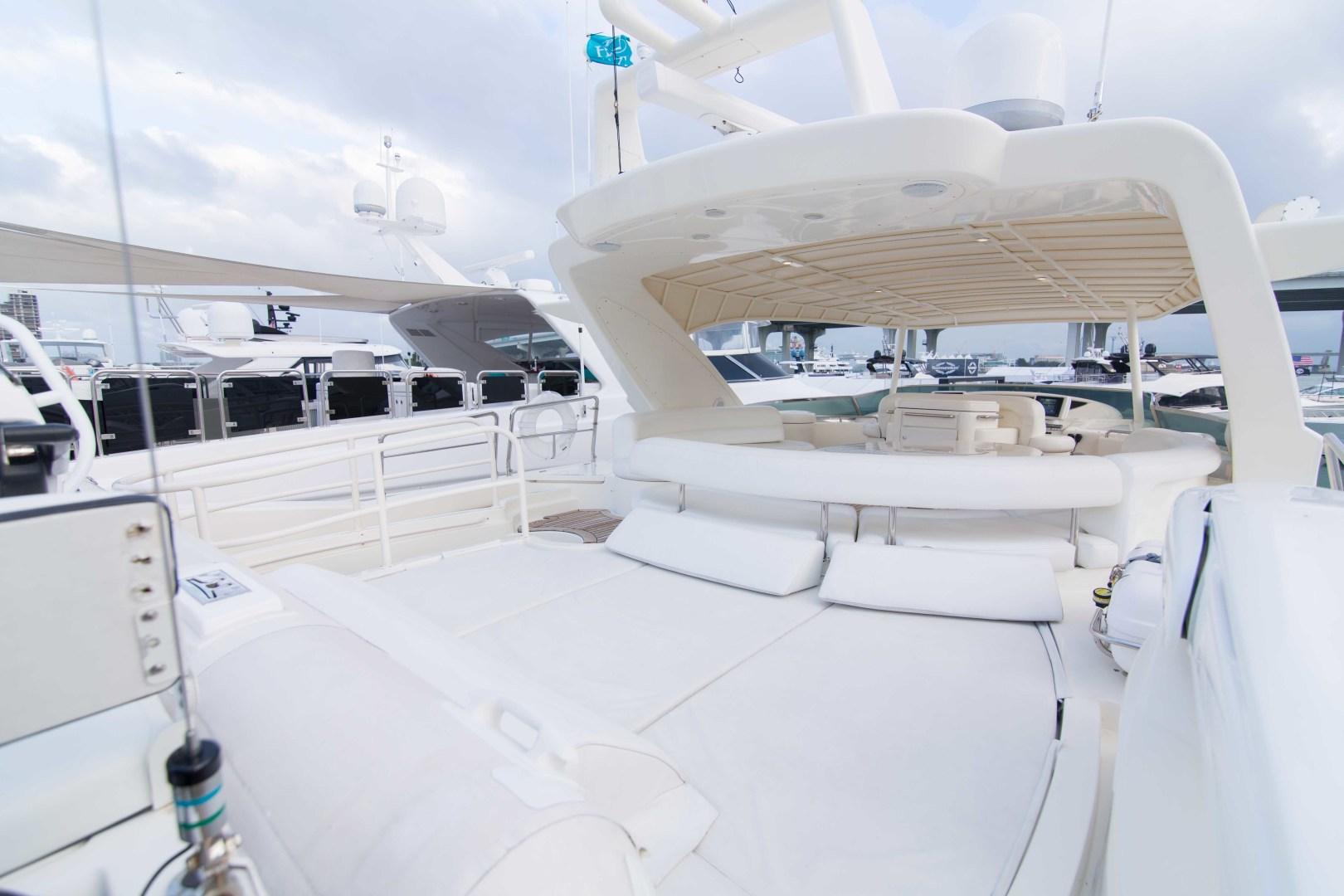 Azimut-Motor Yacht 2001-Enchanted Lady North Palm Beach-Florida-United States-Flybridge-1372227 | Thumbnail