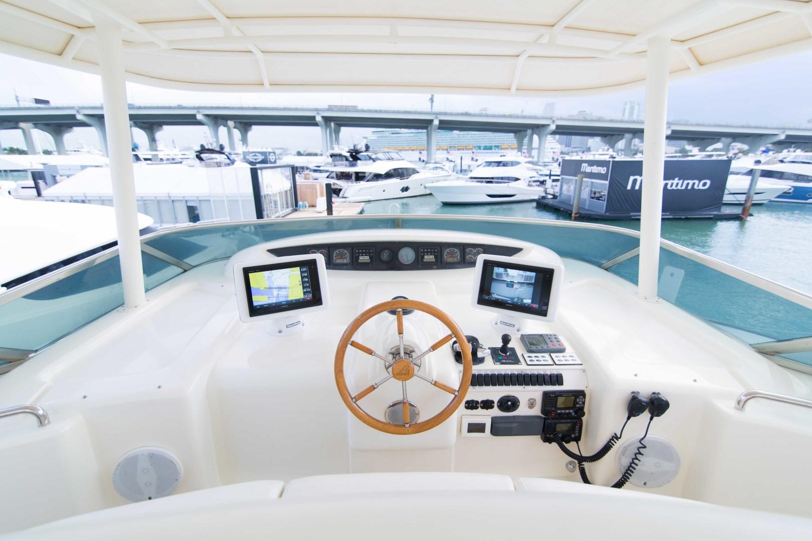 Azimut-Motor Yacht 2001-Enchanted Lady North Palm Beach-Florida-United States-Flybridge-1372233 | Thumbnail