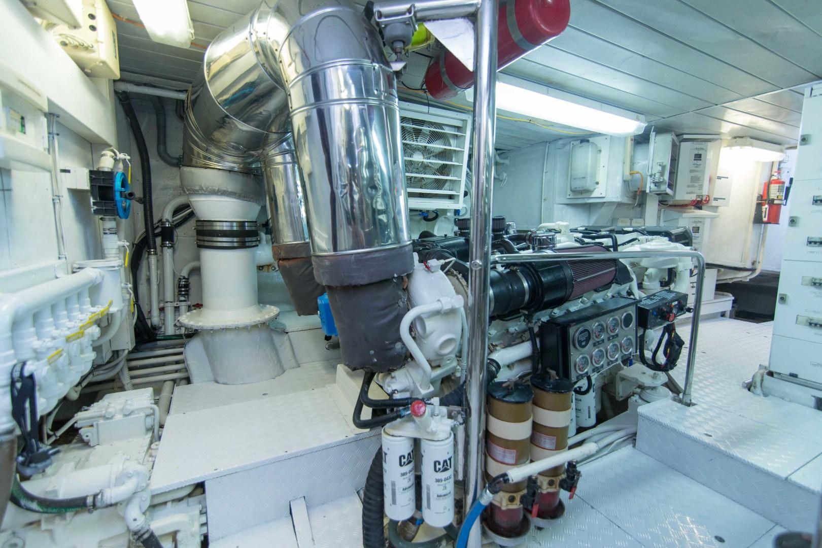 Azimut-Motor Yacht 2001-Enchanted Lady North Palm Beach-Florida-United States-Engine Room-1372245 | Thumbnail
