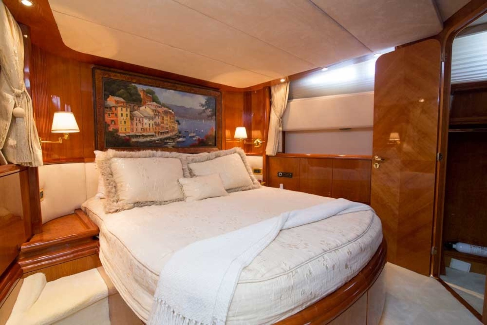 Azimut-Motor Yacht 2001-Enchanted Lady North Palm Beach-Florida-United States-VIP Stateroom-1372165 | Thumbnail