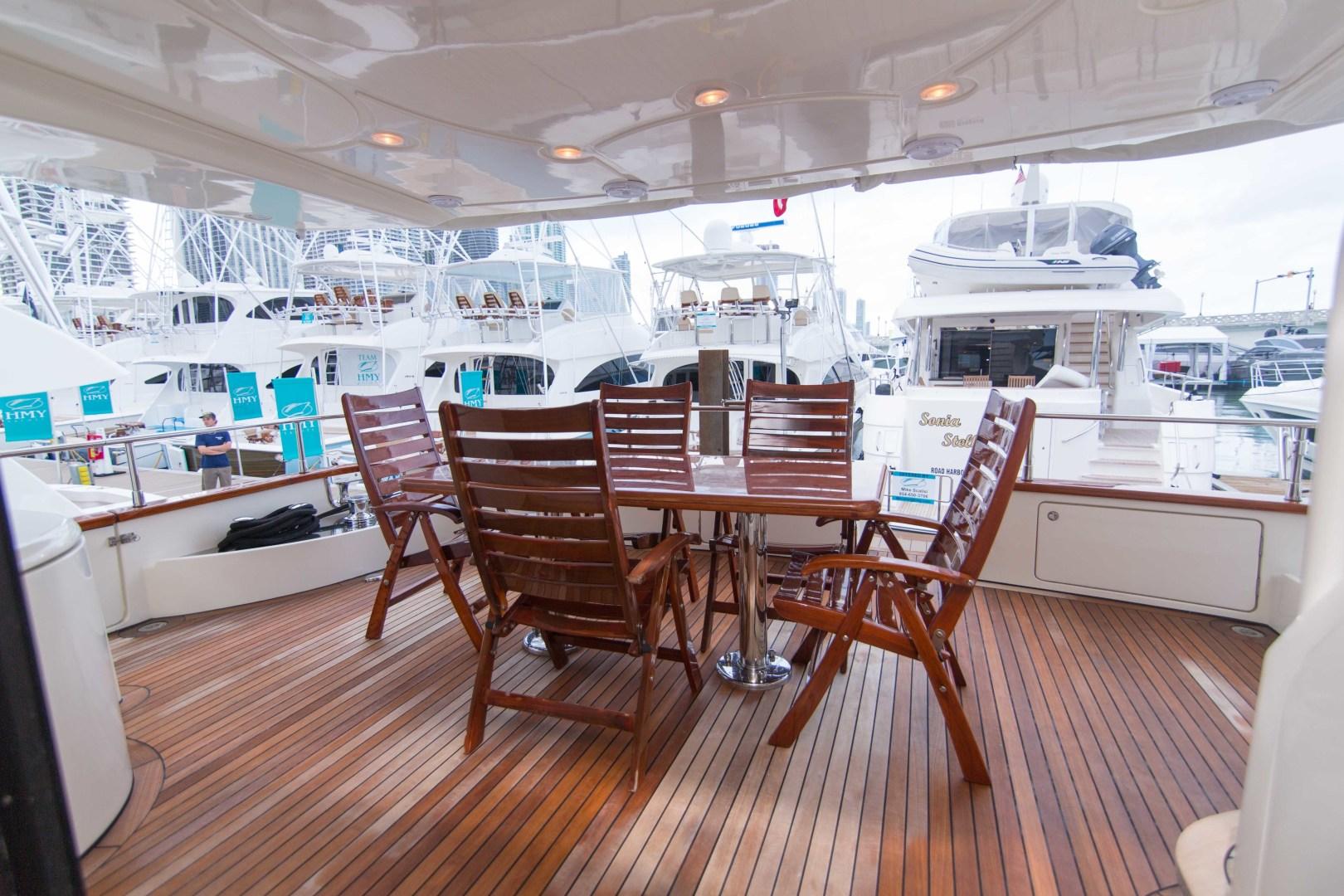 Azimut-Motor Yacht 2001-Enchanted Lady North Palm Beach-Florida-United States-Aft Deck-1372198 | Thumbnail
