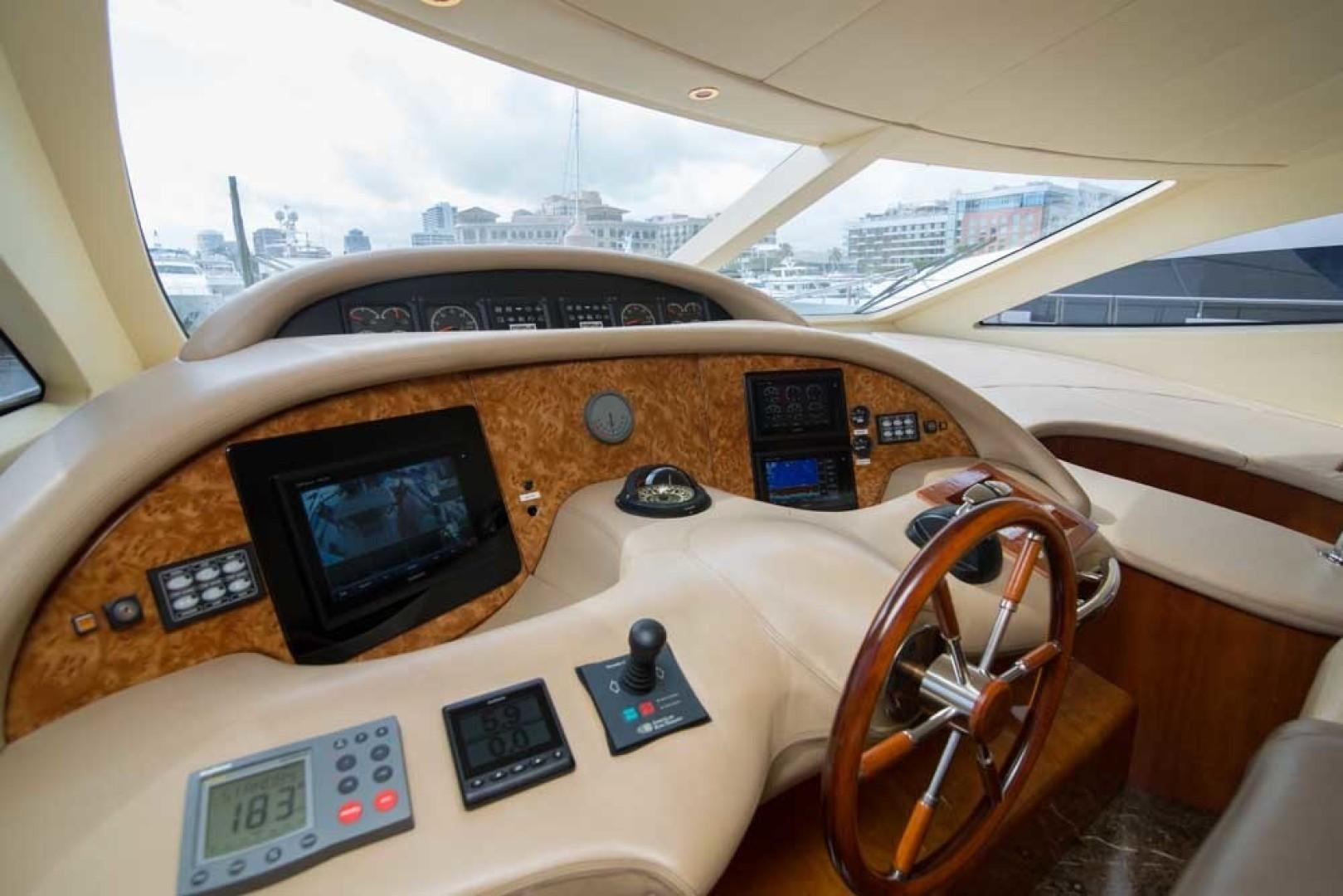 Azimut-Motor Yacht 2001-Enchanted Lady North Palm Beach-Florida-United States-Helm-1372121 | Thumbnail