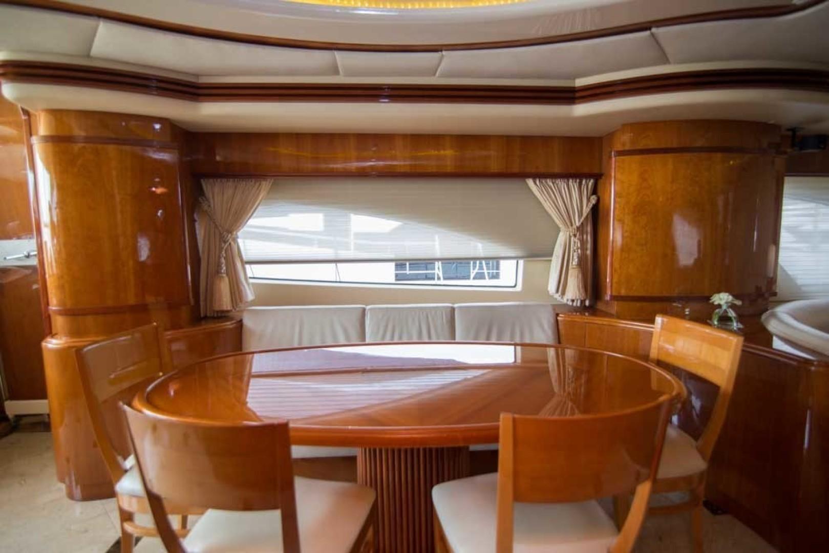 Azimut-Motor Yacht 2001-Enchanted Lady North Palm Beach-Florida-United States-Dining-1372130 | Thumbnail