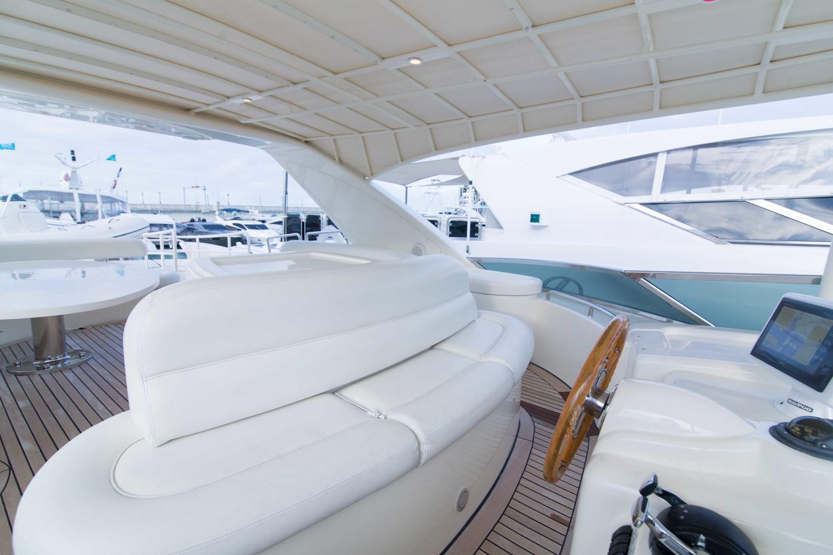 Azimut-Motor Yacht 2001-Enchanted Lady North Palm Beach-Florida-United States-Flybridge-1372219 | Thumbnail