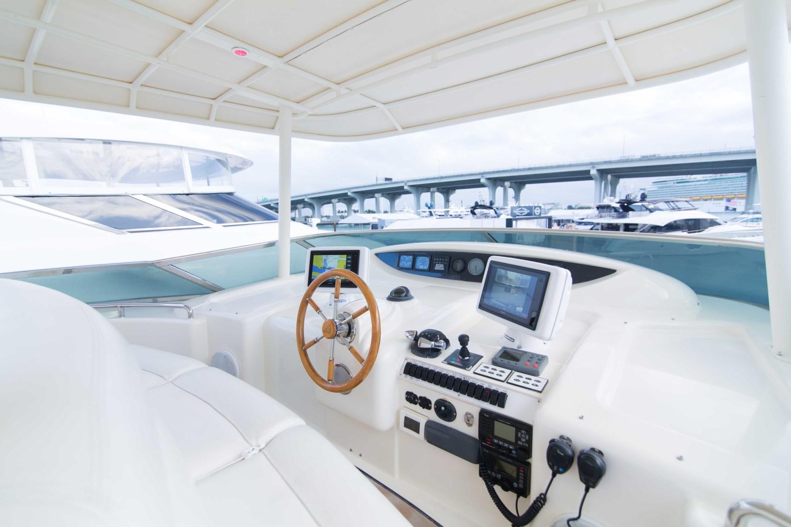 Azimut-Motor Yacht 2001-Enchanted Lady North Palm Beach-Florida-United States-Flybridge-1372212 | Thumbnail