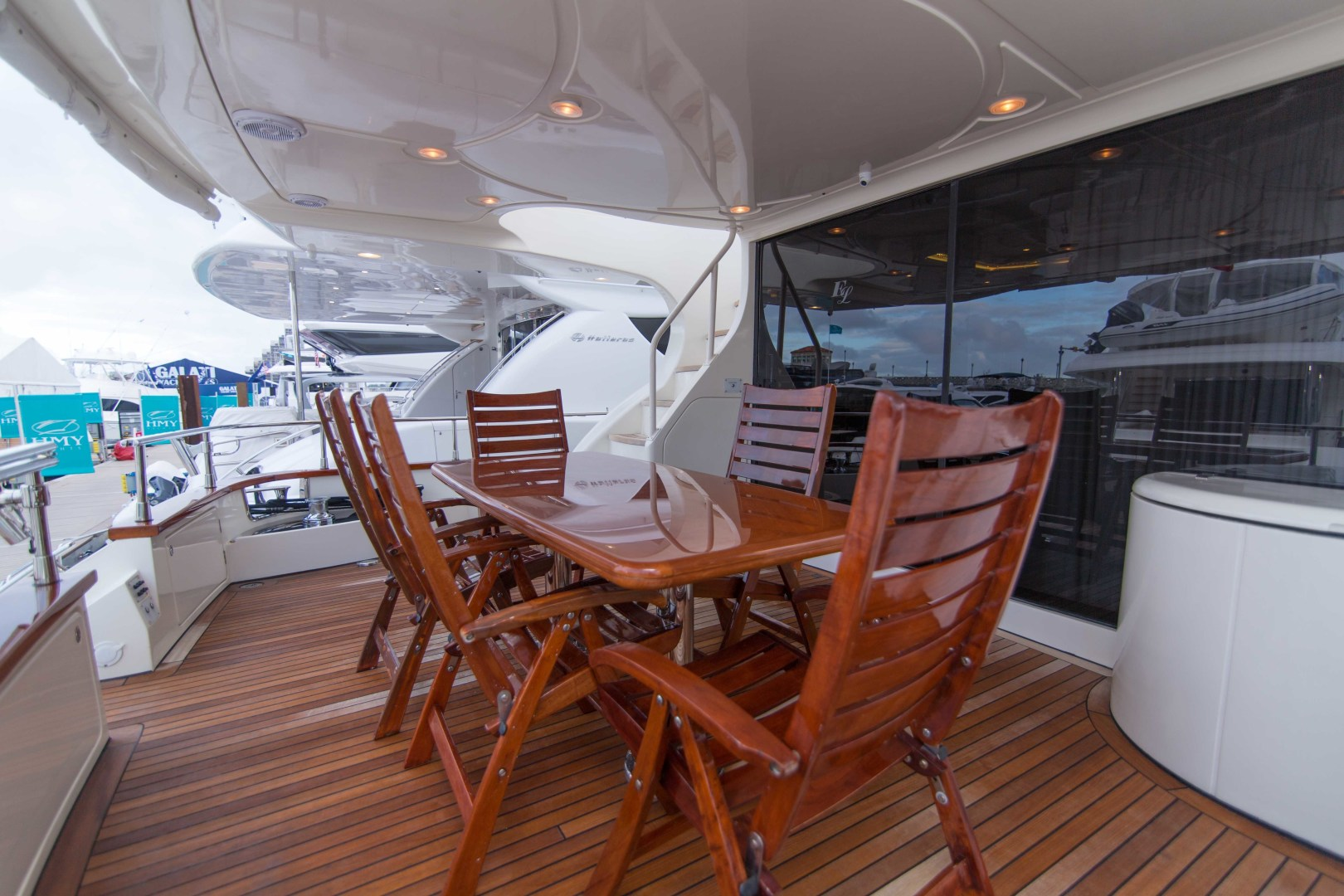 Azimut-Motor Yacht 2001-Enchanted Lady North Palm Beach-Florida-United States-Aft Deck-1372193 | Thumbnail