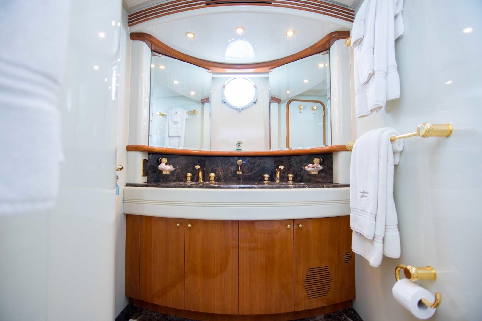 Azimut-Motor Yacht 2001-Enchanted Lady North Palm Beach-Florida-United States-Master Stateroom Head-1372154 | Thumbnail