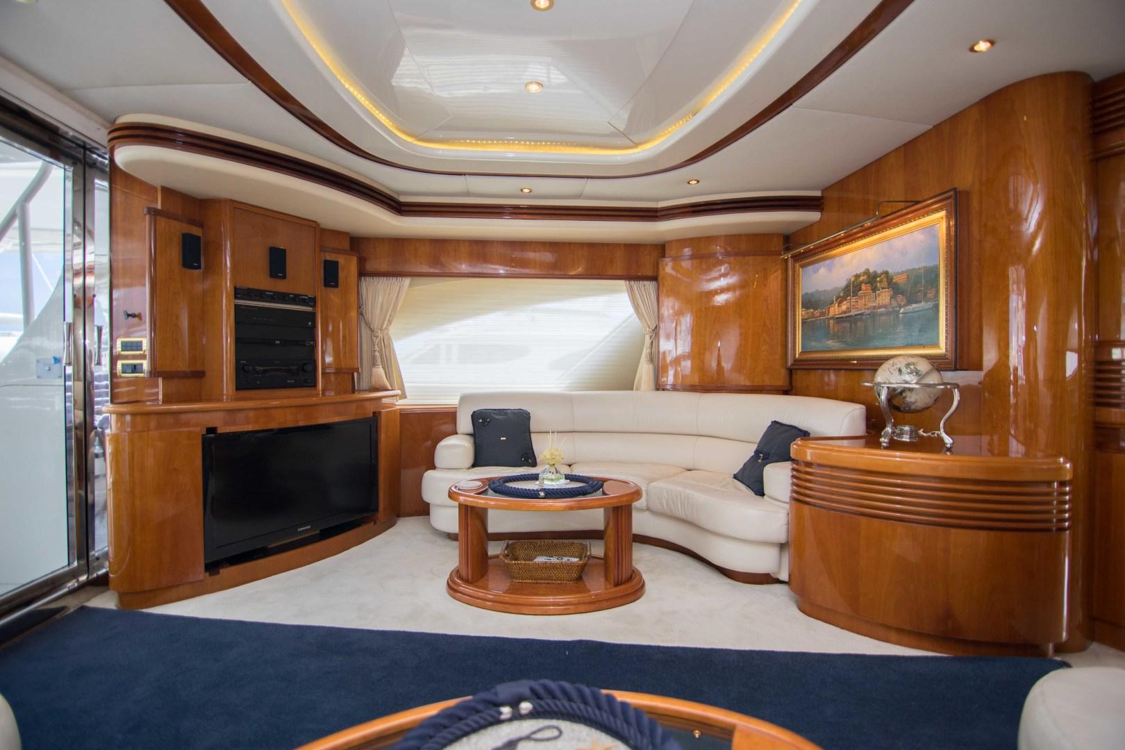 Azimut-Motor Yacht 2001-Enchanted Lady North Palm Beach-Florida-United States-Salon-1372116 | Thumbnail