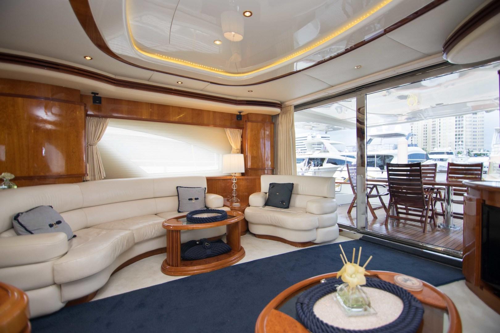 Azimut-Motor Yacht 2001-Enchanted Lady North Palm Beach-Florida-United States-Salon-1372115 | Thumbnail