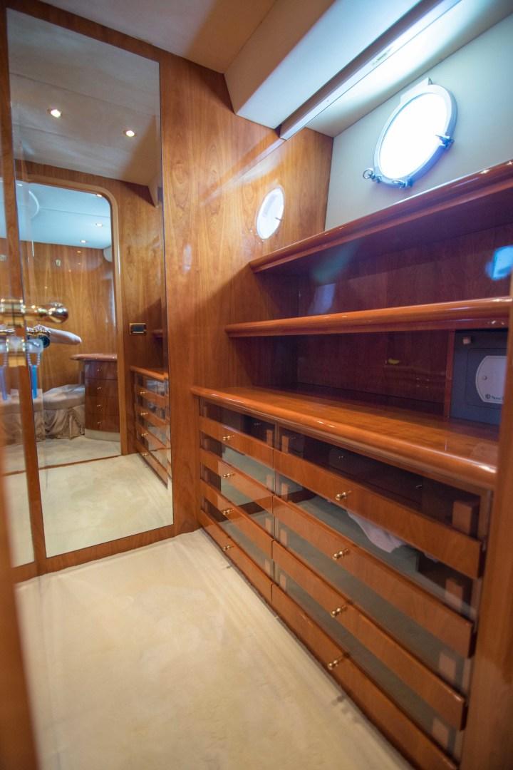 Azimut-Motor Yacht 2001-Enchanted Lady North Palm Beach-Florida-United States-Master Stateroom Closet-1372151 | Thumbnail