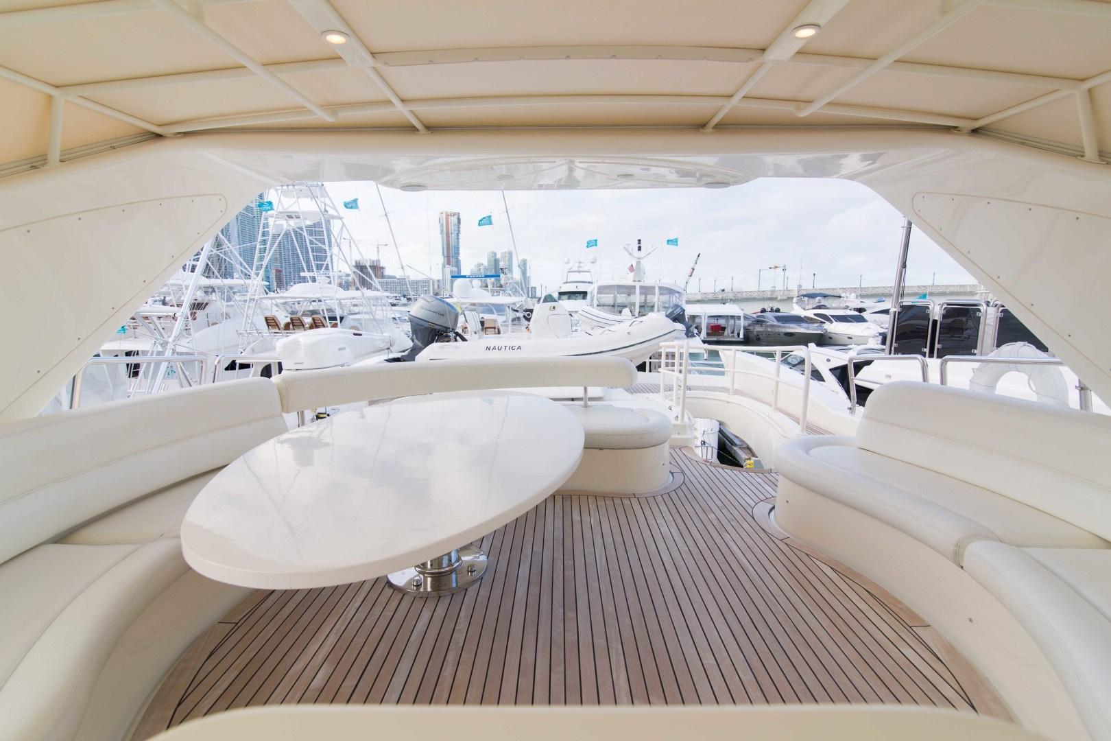 Azimut-Motor Yacht 2001-Enchanted Lady North Palm Beach-Florida-United States-Flybridge-1372224 | Thumbnail