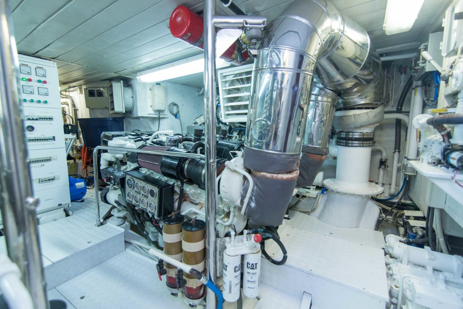 Azimut-Motor Yacht 2001-Enchanted Lady North Palm Beach-Florida-United States-Engine Room-1372244 | Thumbnail