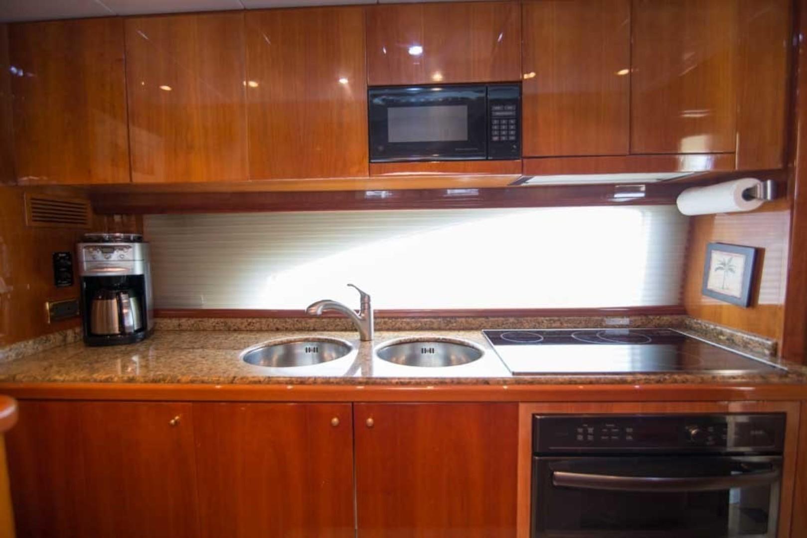 Azimut-Motor Yacht 2001-Enchanted Lady North Palm Beach-Florida-United States-Galley-1372135 | Thumbnail