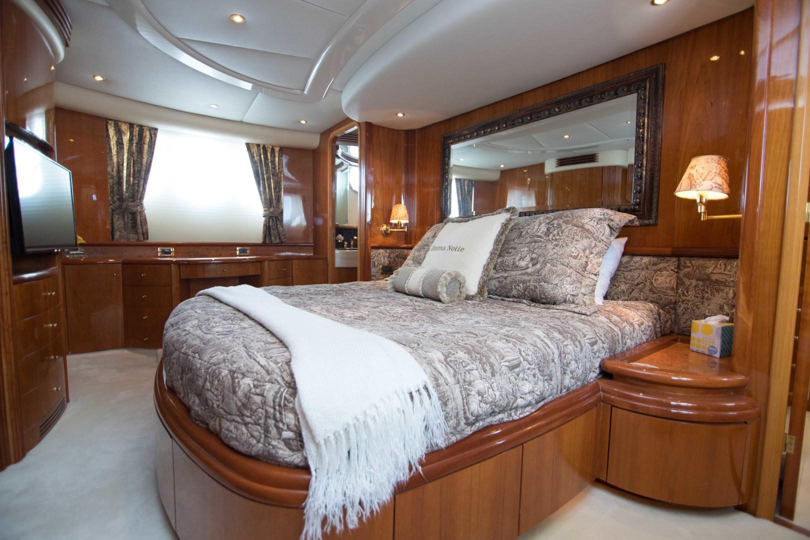 Azimut-Motor Yacht 2001-Enchanted Lady North Palm Beach-Florida-United States-Master Stateroom-1372141 | Thumbnail