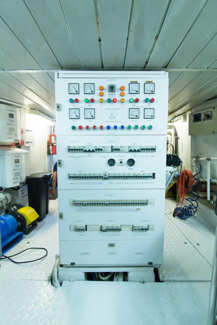 Azimut-Motor Yacht 2001-Enchanted Lady North Palm Beach-Florida-United States-Engine Room-1372257 | Thumbnail