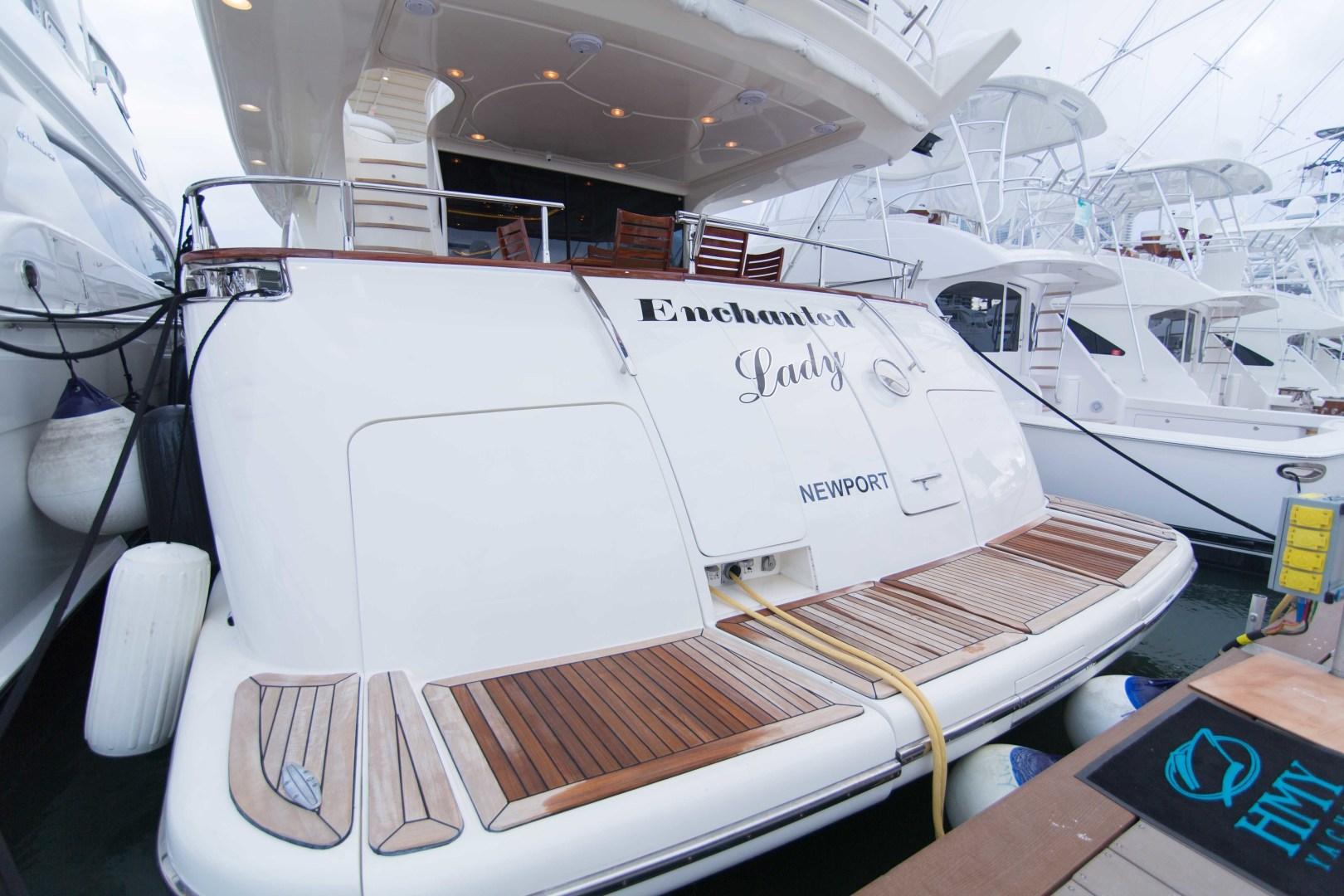 Azimut-Motor Yacht 2001-Enchanted Lady North Palm Beach-Florida-United States-Transom-1372211 | Thumbnail
