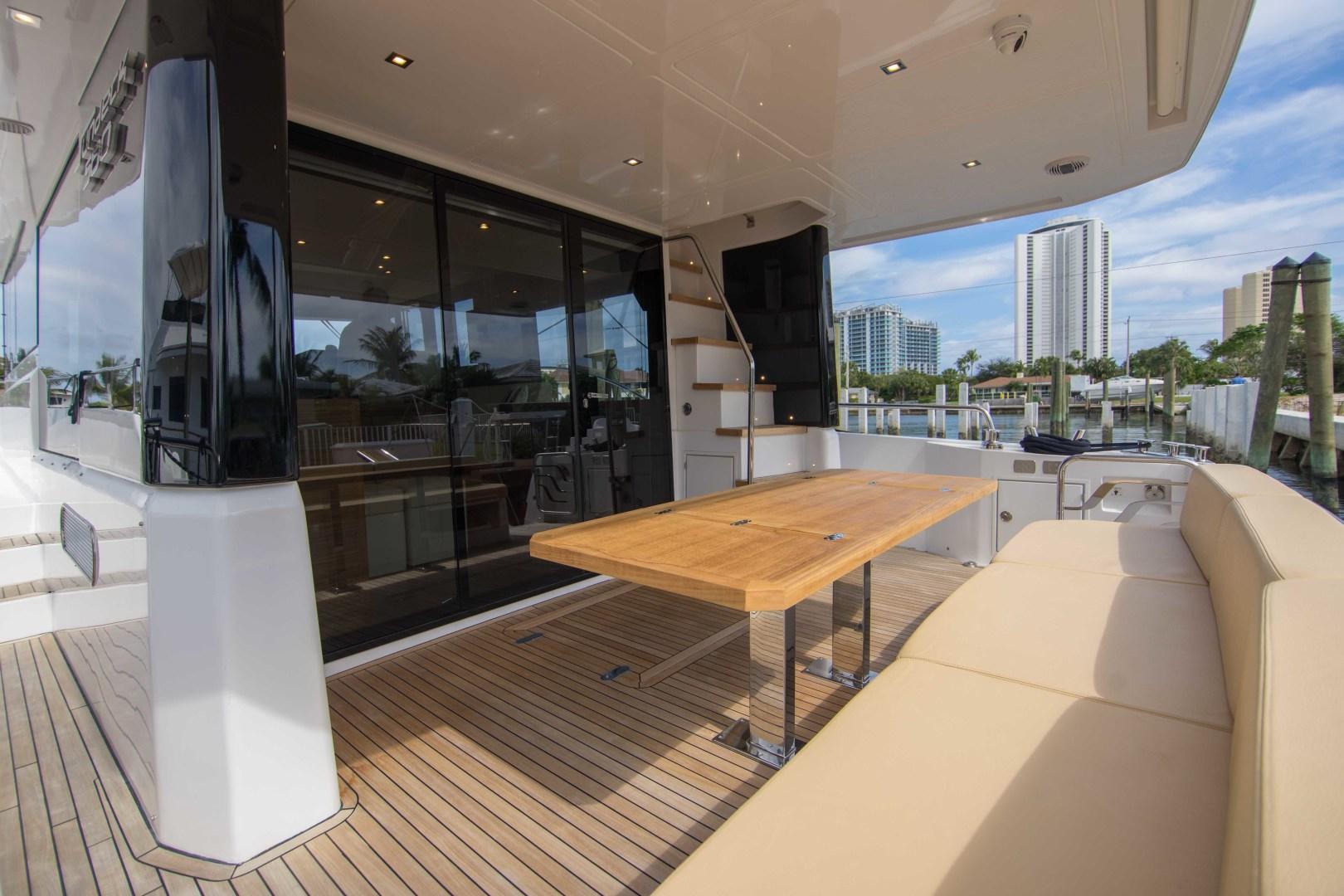 Sundeck-58 Sport 2019-LJ IV Singer Island-Florida-United States-Aft Deck-1373062 | Thumbnail