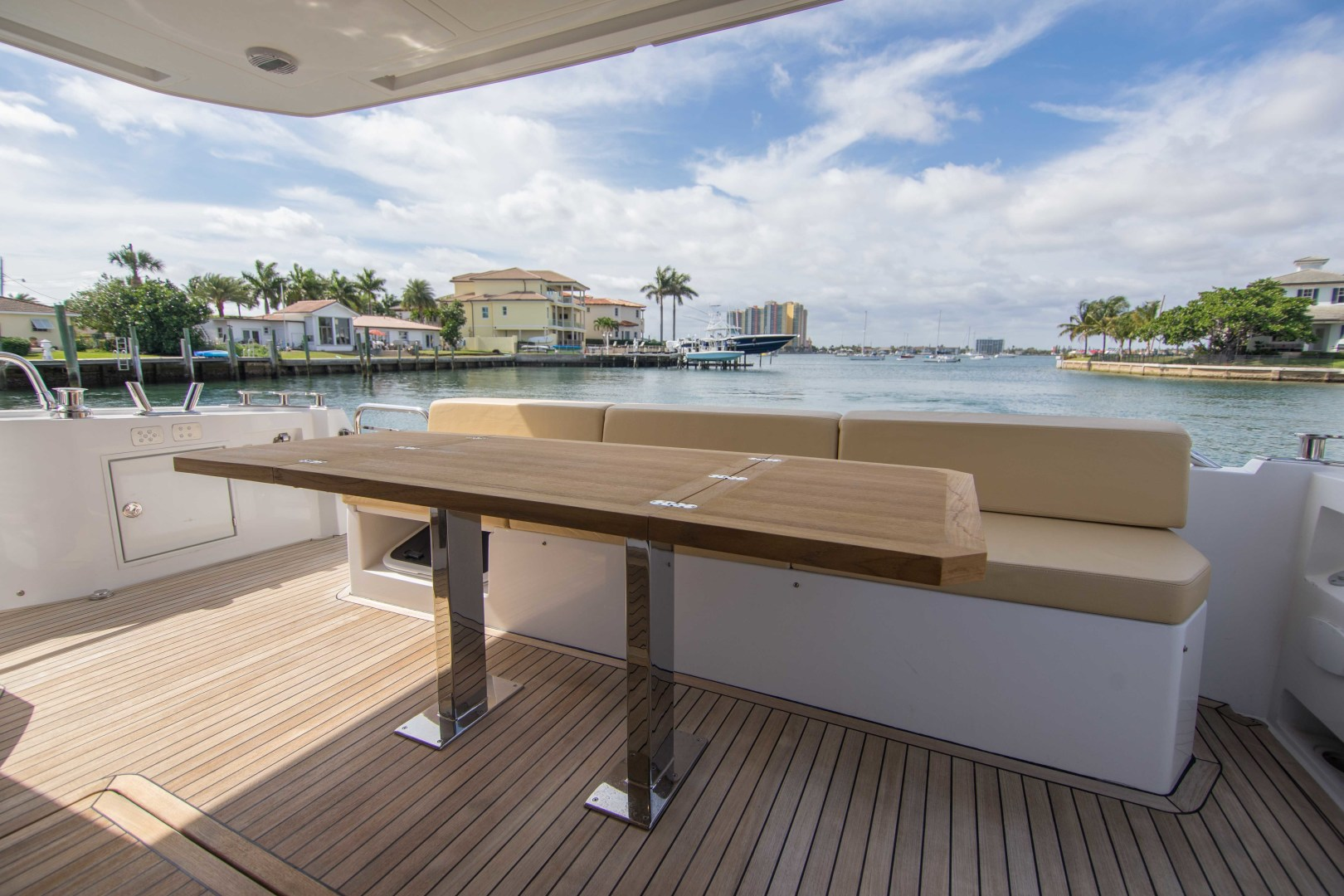 Sundeck-58 Sport 2019-LJ IV Singer Island-Florida-United States-Aft Deck-1373065 | Thumbnail