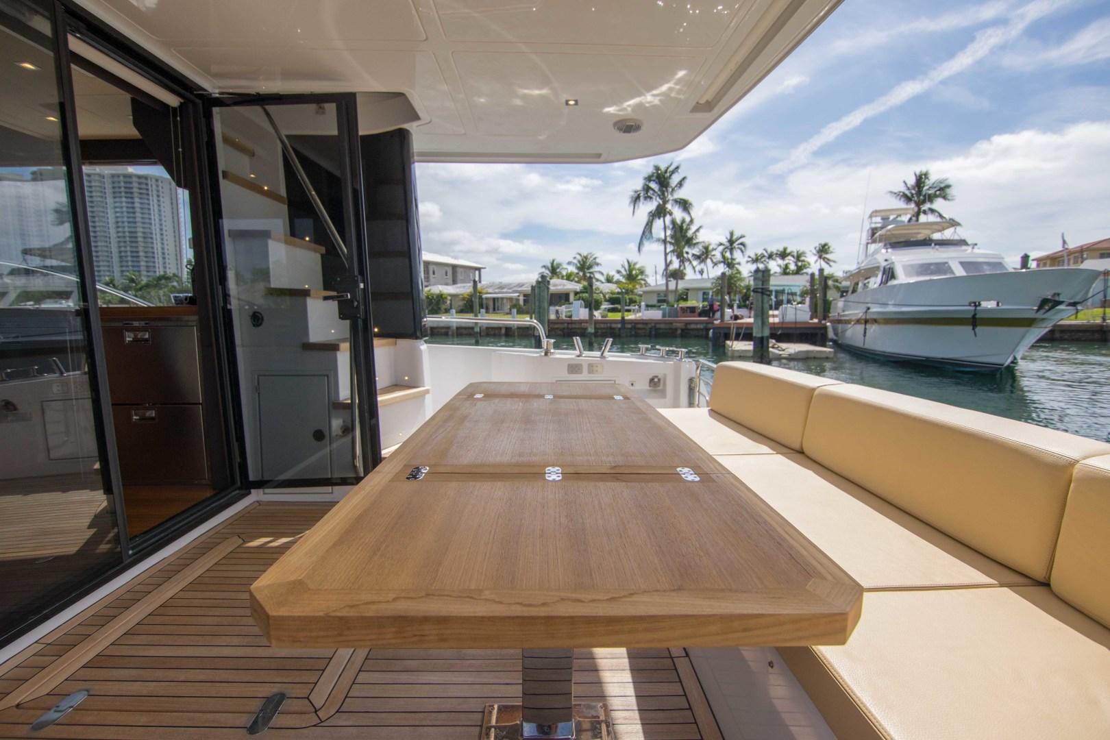 Sundeck-58 Sport 2019-LJ IV Singer Island-Florida-United States-Aft Deck-1373068 | Thumbnail