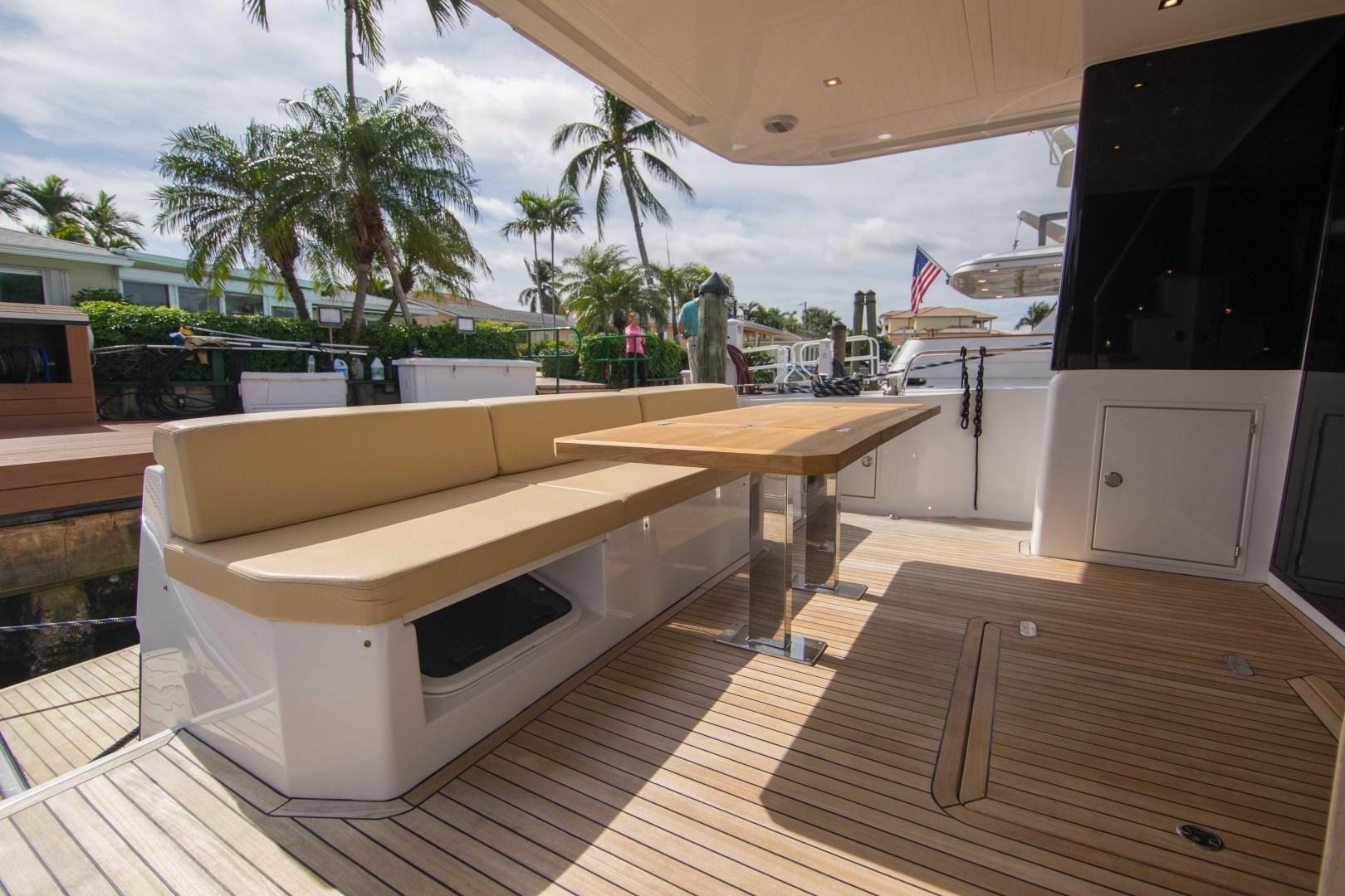 Sundeck-58 Sport 2019-LJ IV Singer Island-Florida-United States-Aft Deck-1373059 | Thumbnail