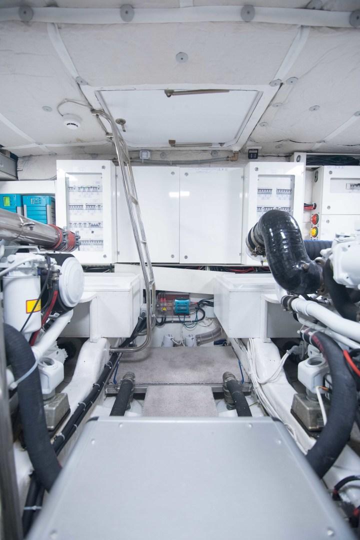 Sundeck-58 Sport 2019-LJ IV Singer Island-Florida-United States-Engine Room-1373110 | Thumbnail