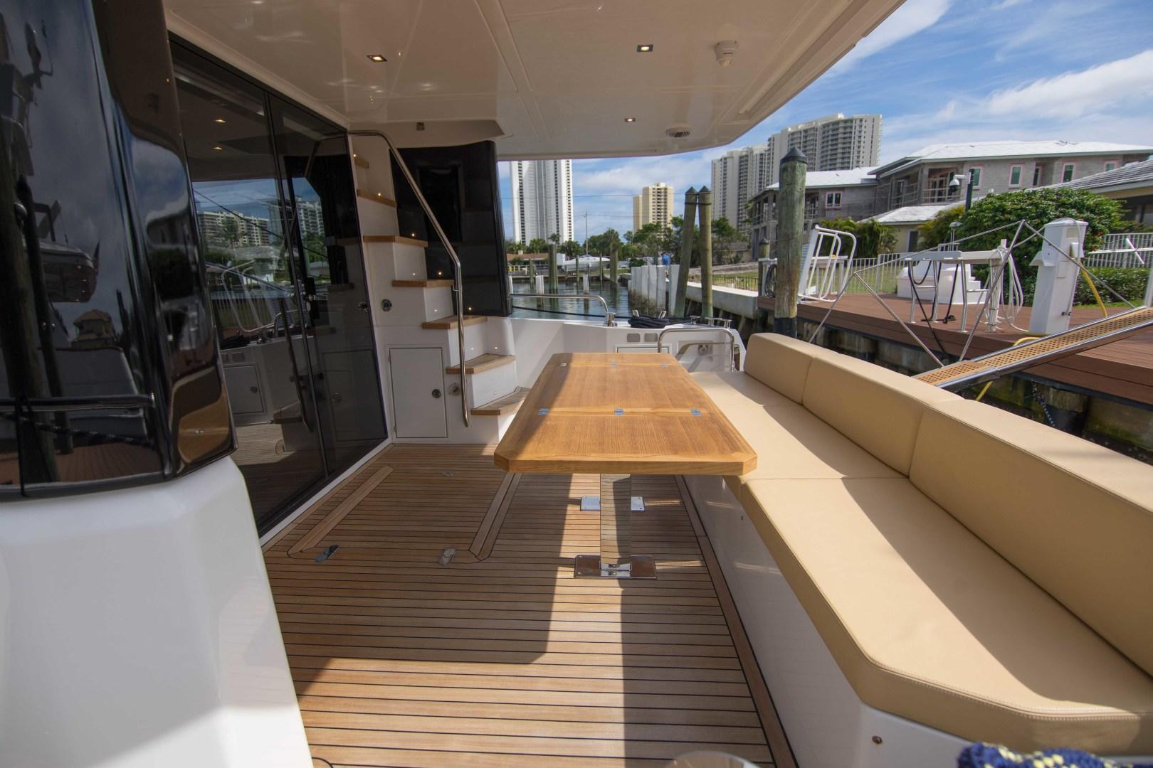 Sundeck-58 Sport 2019-LJ IV Singer Island-Florida-United States-Aft Deck-1373061 | Thumbnail