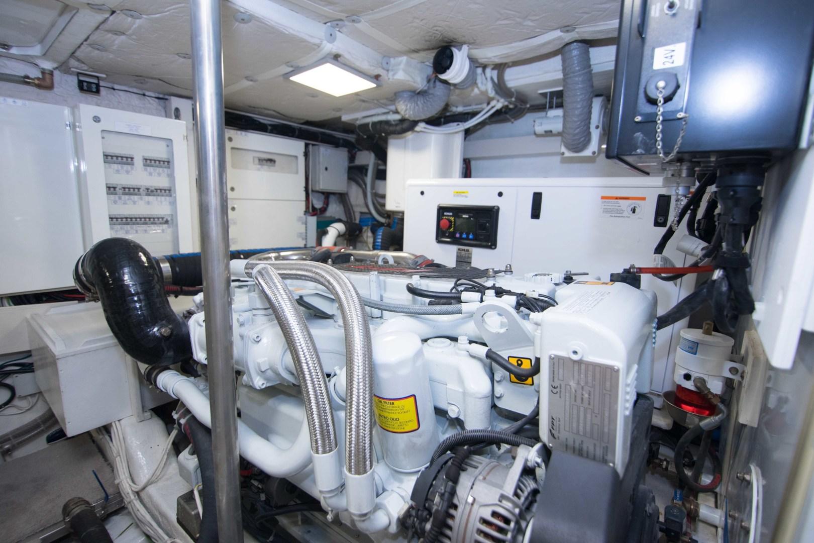 Sundeck-58 Sport 2019-LJ IV Singer Island-Florida-United States-Engine Room-1373106 | Thumbnail