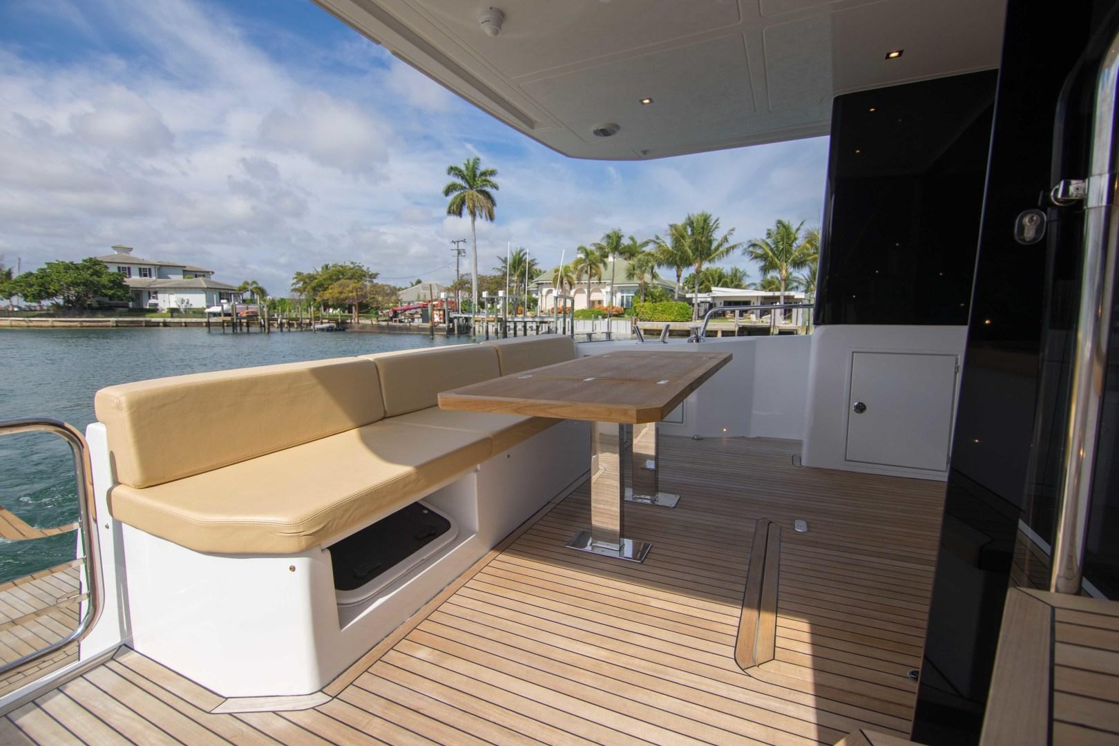 Sundeck-58 Sport 2019-LJ IV Singer Island-Florida-United States-Aft Deck-1373066 | Thumbnail