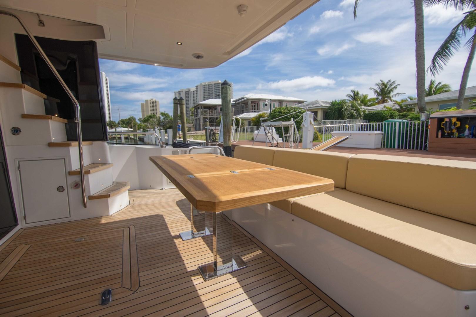 Sundeck-58 Sport 2019-LJ IV Singer Island-Florida-United States-Aft Deck-1373060 | Thumbnail