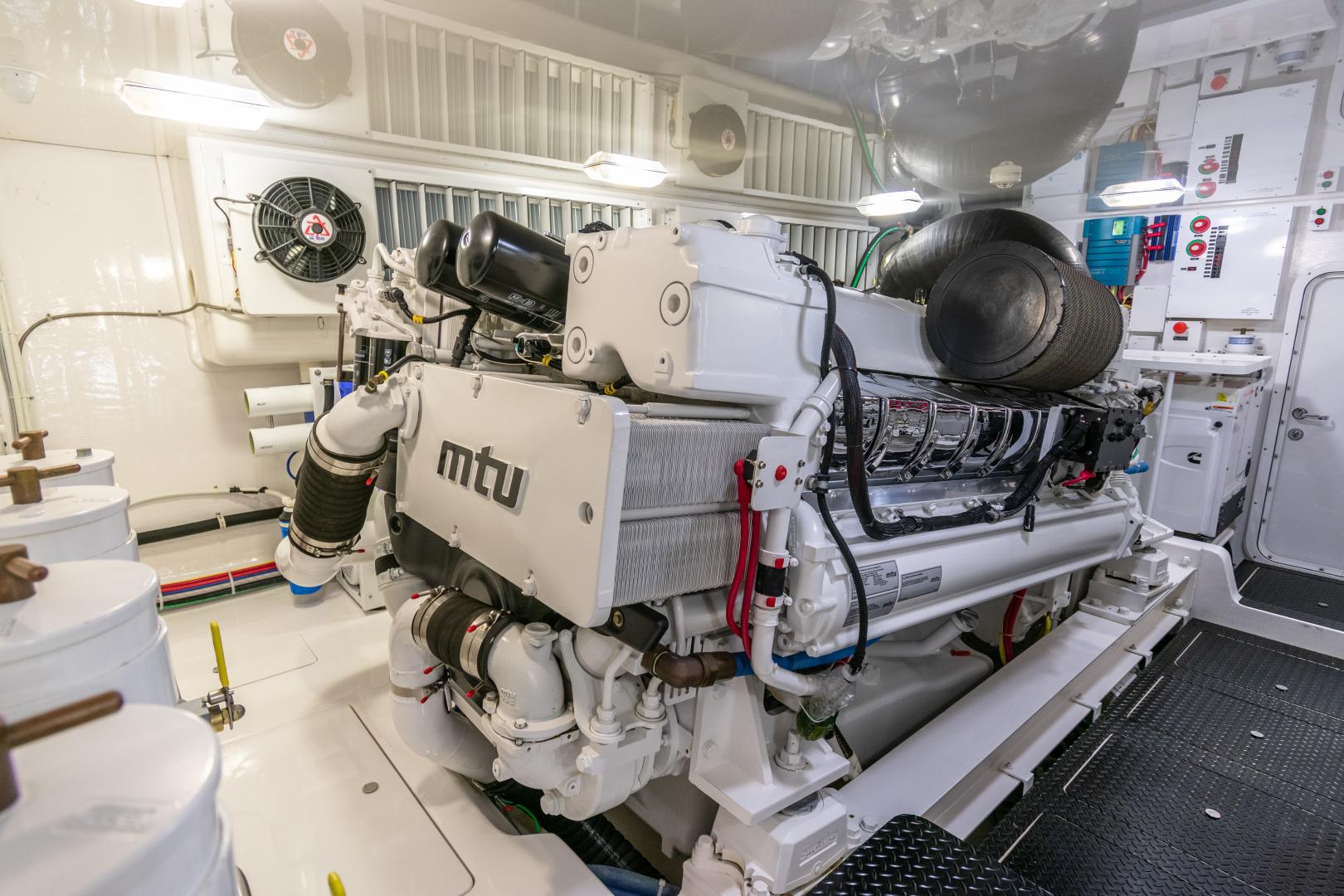 Viking-70 Convertible 2014-Load N Go Port Aransas-Texas-United States-2014 70 Viking Load N Go Engine Room (3)-1380548 | Thumbnail