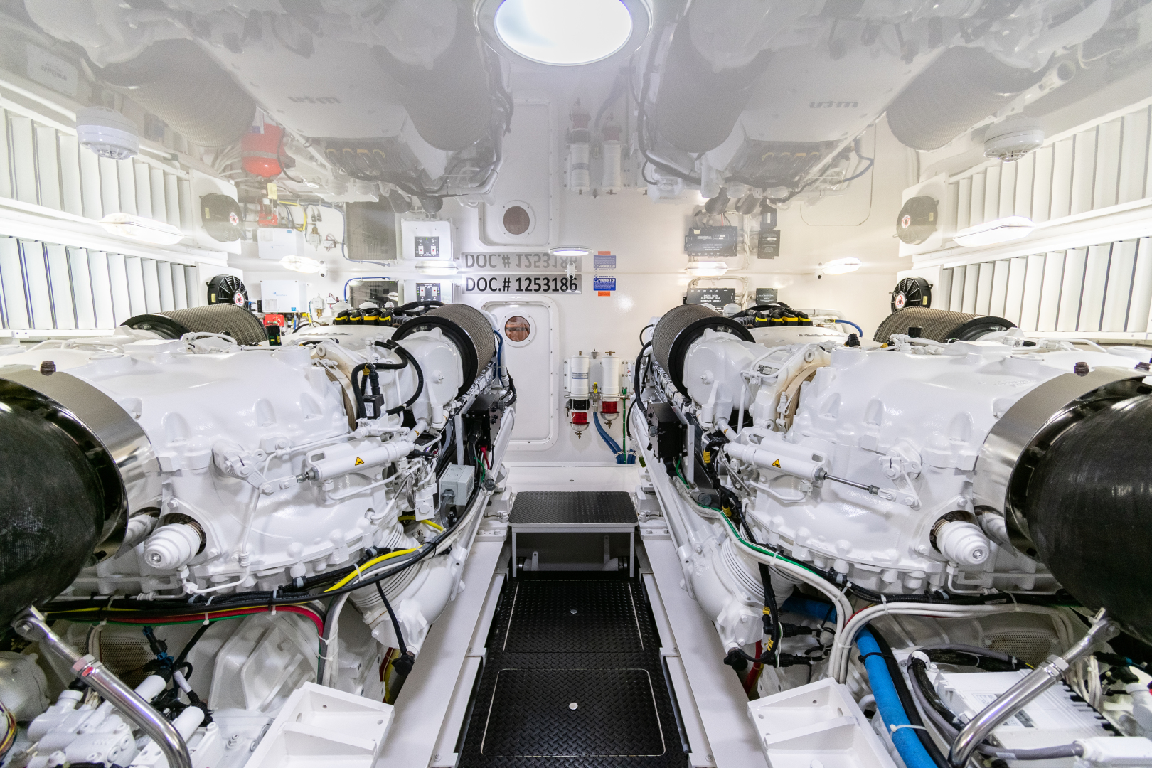Viking-70 Convertible 2014-Load N Go Port Aransas-Texas-United States-2014 70 Viking Load N Go Engine Room (10)-1380589 | Thumbnail
