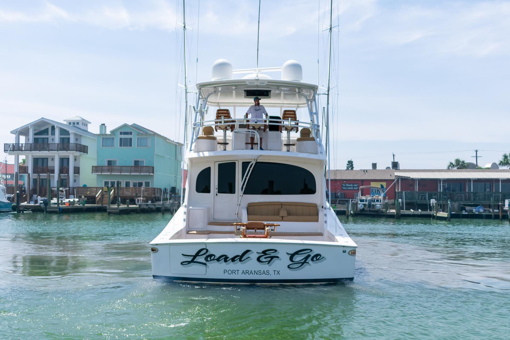 Viking-70 Convertible 2014-Load N Go Port Aransas-Texas-United States-2014 70 Viking Load N Go Transom (2)-1380606 | Thumbnail