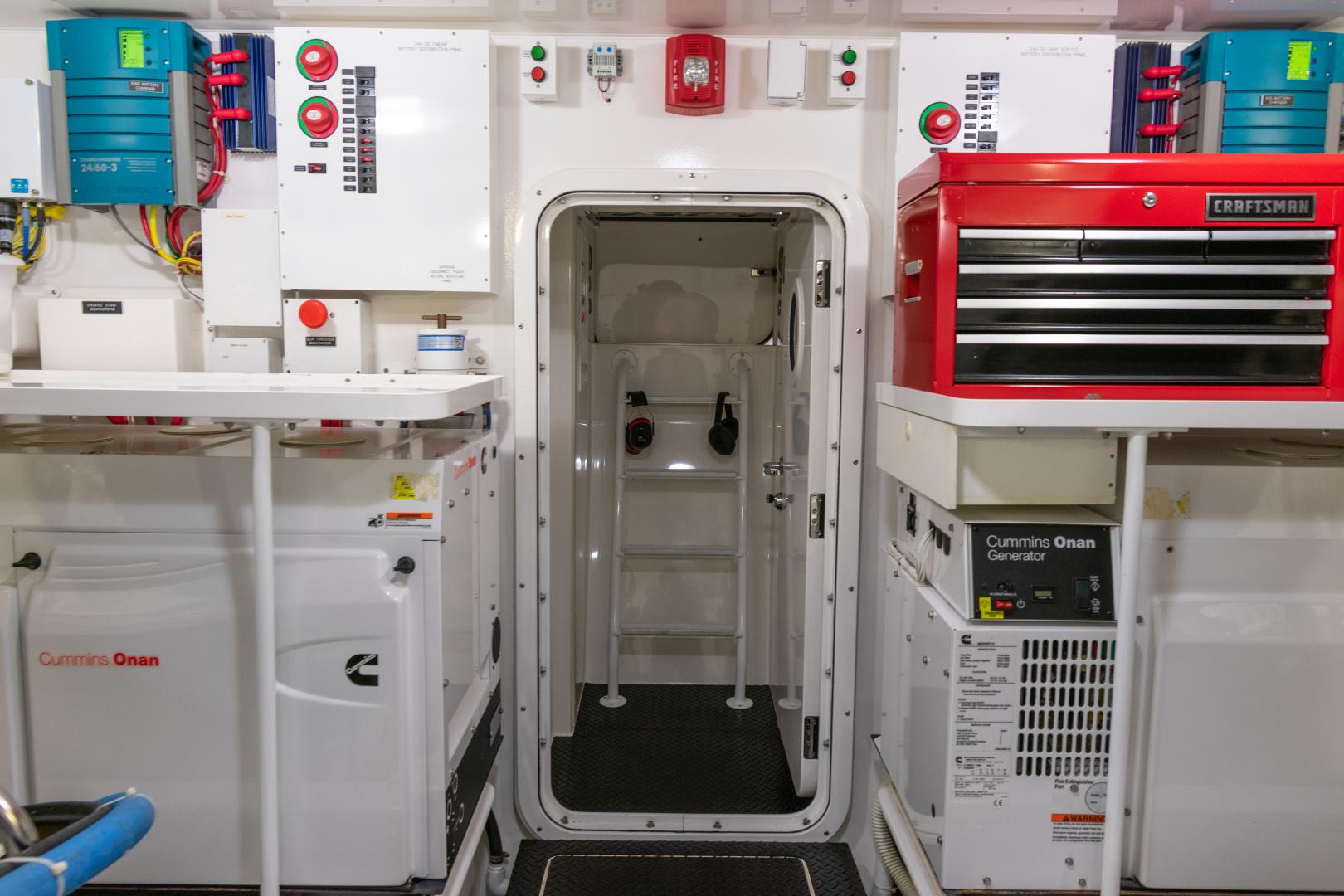 Viking-70 Convertible 2014-Load N Go Port Aransas-Texas-United States-2014 70 Viking Load N Go Engine Room (1)-1380533 | Thumbnail
