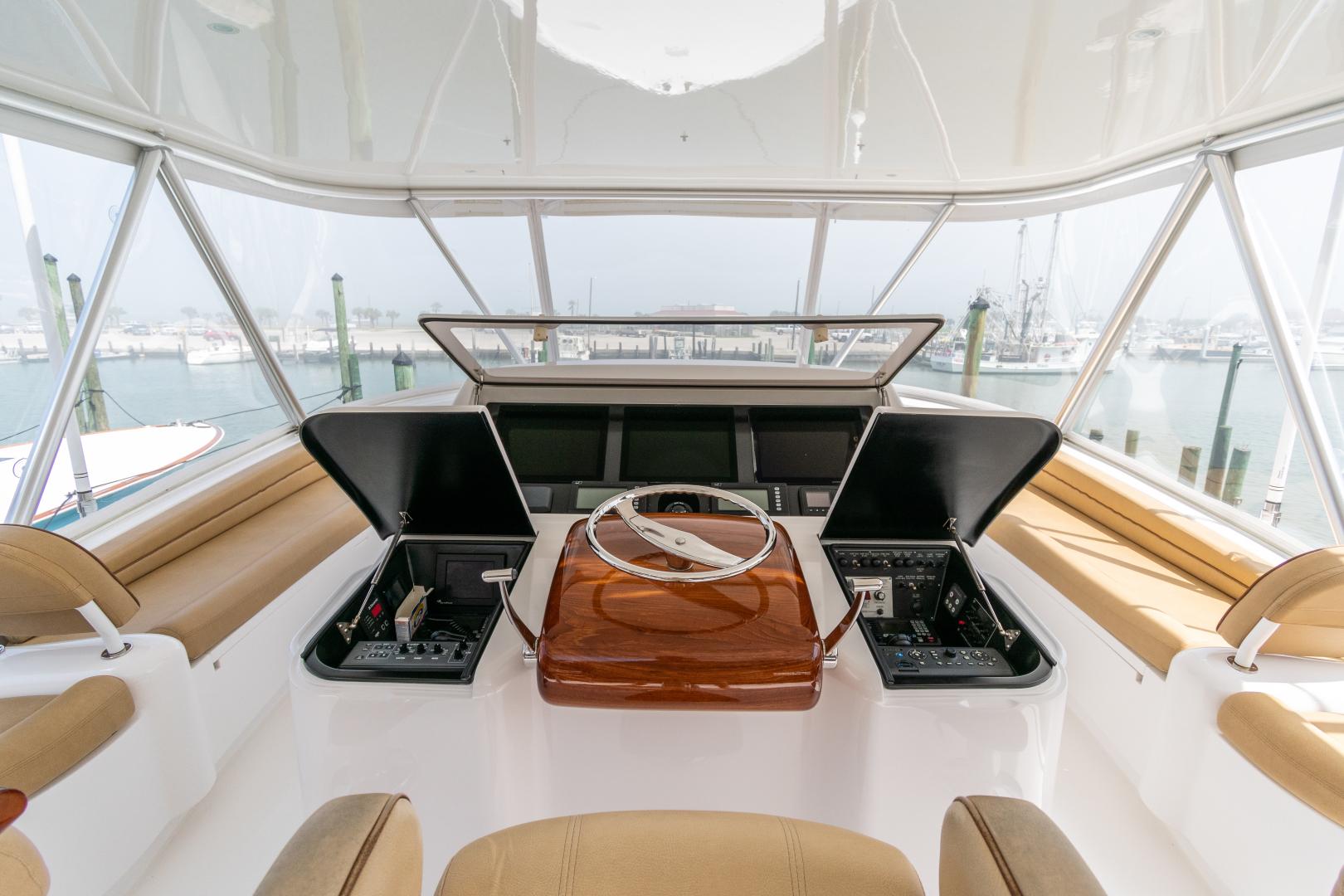 Viking-70 Convertible 2014-Load N Go Port Aransas-Texas-United States-2014 70 Viking Load N Go Helm (2)-1380598 | Thumbnail