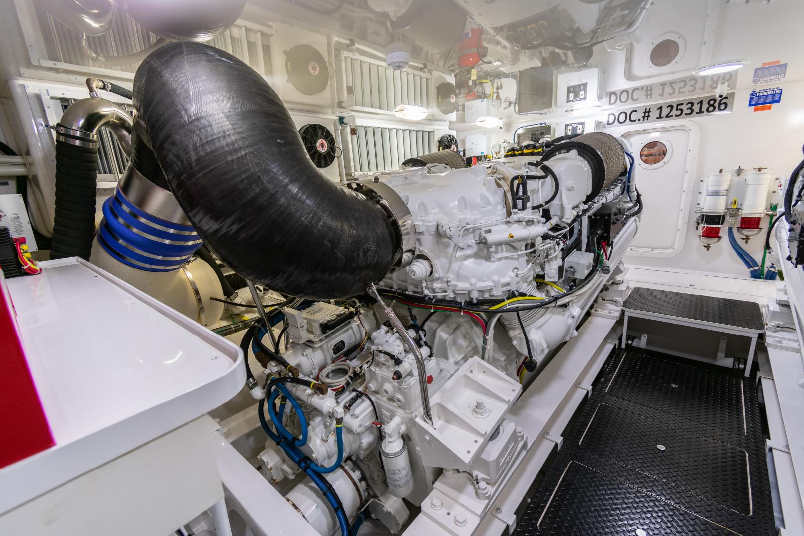 Viking-70 Convertible 2014-Load N Go Port Aransas-Texas-United States-2014 70 Viking Load N Go Engine Room (11)-1380590 | Thumbnail